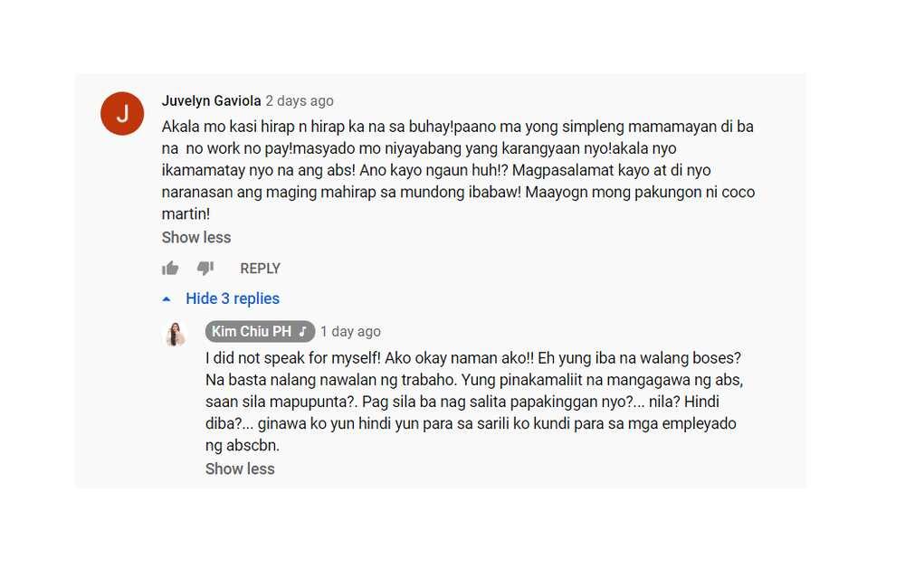 """Kim Chiu, sinagot ang samu't sari niyang bashers matapos ang kanyang viral """"classroom"""" quote"""