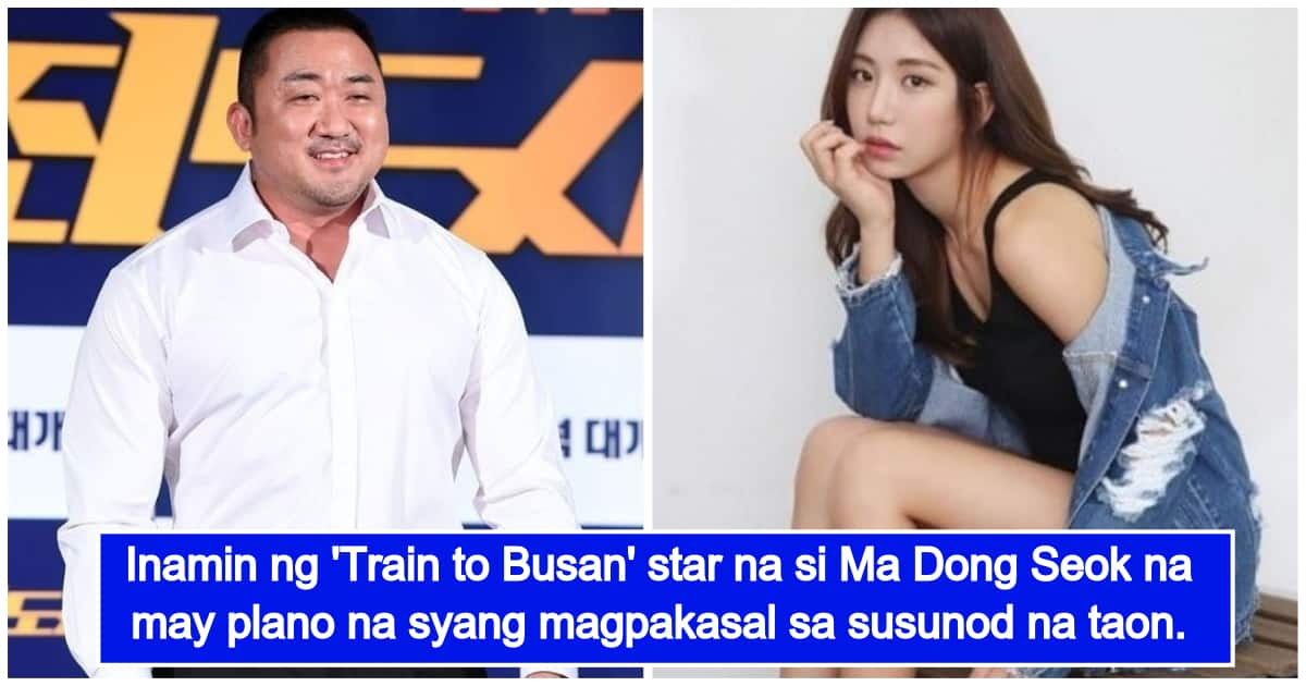 'Train to Busan' star Ma Dong Seok reveals his plan to get married next year