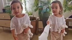 """Video of baby Thylane Bolzico saying """"Tili Dahli"""" goes viral"""