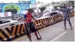 Lalaking may saklay, bistado ang pagpapanggap nang habulin ang traffic marshal