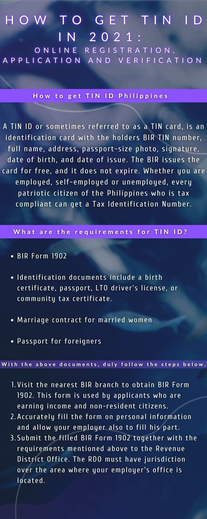 How to get TIN ID