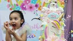 Zia Dantes celebrates with her classmates on her advance birthday bash