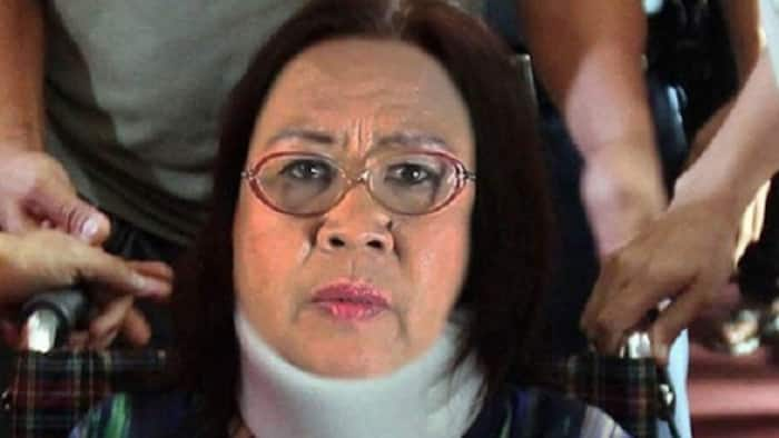 Fact check: No, De Lima was not rushed to the hospital & not wearing neck brace