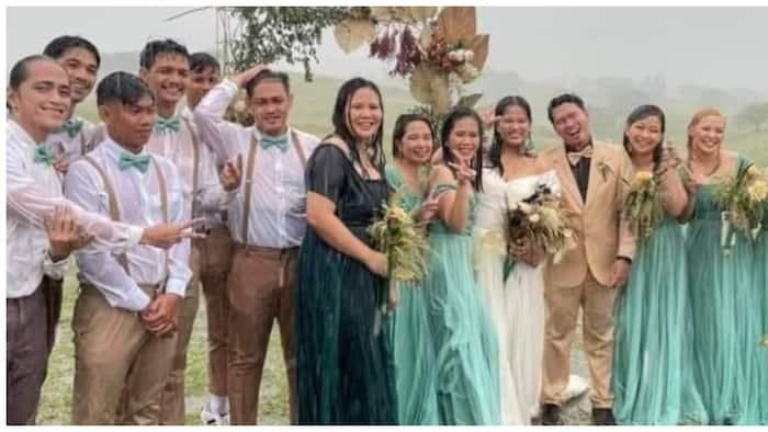 Maulang outdoor wedding, umantig sa puso ng maraming netizens