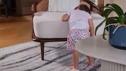 Nico Bolzico shares cute video of Baby Thylane having her Monday mood
