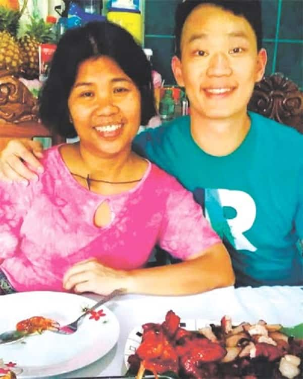 Pinay DH who has cancer was visited in the Philippines by her former 'alaga'