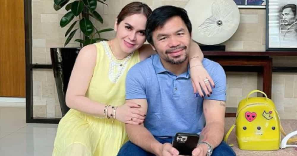Jinkee Pacquiao, todo alaga sa sugatang Manny Pacquiao matapos ang laban
