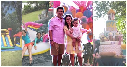 Pang baby bossing talaga! All the details of Talitha Sotto's picnic-inspired party