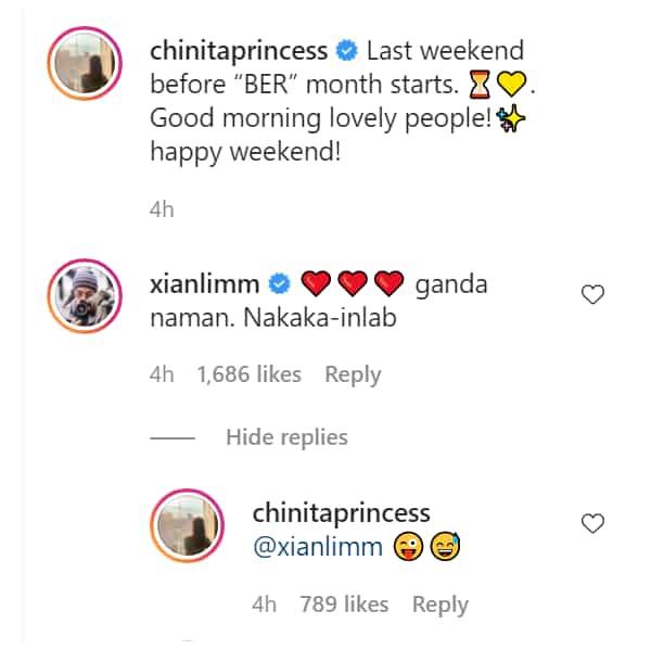 Xian Lim commends Kim Chiu's 'bagong gising' selfie; netizens react