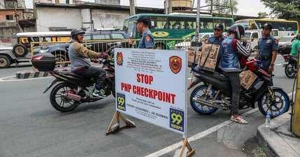 Inakusahan ang PNP na diumano'y may 'tanim-droga' raw sa mga checkpoint
