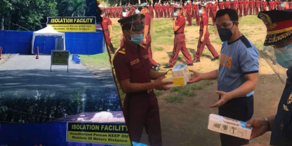 PNP Academy goes on lockdown after 232 cadets tested positive for coronavirus