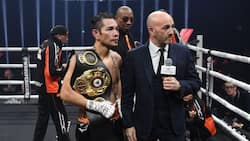 Donaire wins WBA title via TKO after his opponent suffered freak injury