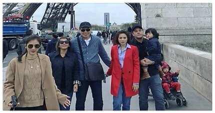 "Sosyalin! Mommy Pinty, Daddy Bonoy, Direk Paul, Seve, at ""Mary, Marry Me"" Gonzaga sissums nasa Pransiya"