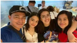 Cesar Montano spends some time with his daughters with ex-wife Sunshine Cruz