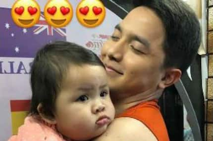 Baby Tali & 'ninong' Alden Richards' cute bonding moment caught on cam; netizens react