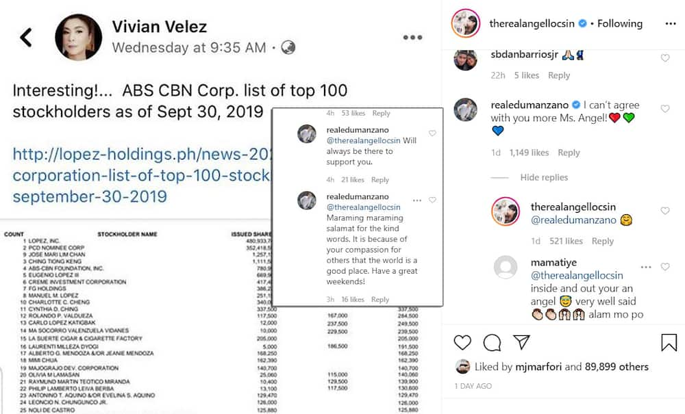 Edu Manzano expresses support to Angel Locsin amid network franchise controversy