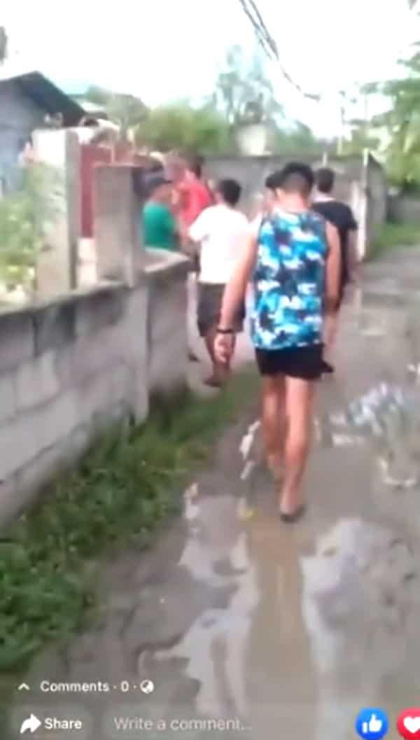 Kinuyog! Video of men attacking home of Jonel Nuezca after shooting Gregorio surfaces
