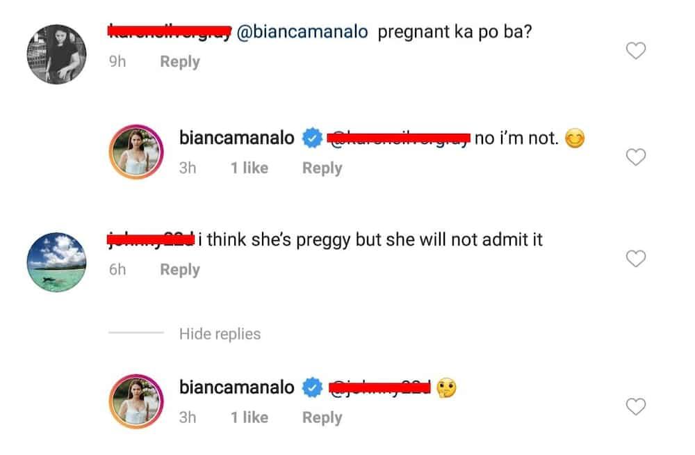 Bianca Manalo's recent post sparks 'pregnancy' claim; actress finally responds