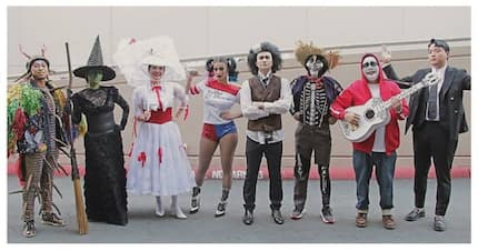 Hanep! It's Showtime family, bidang bida sa kanilang Halloween costumes