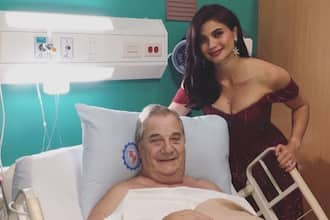 Anne Curtis goes to hospital to be with her father for his operation
