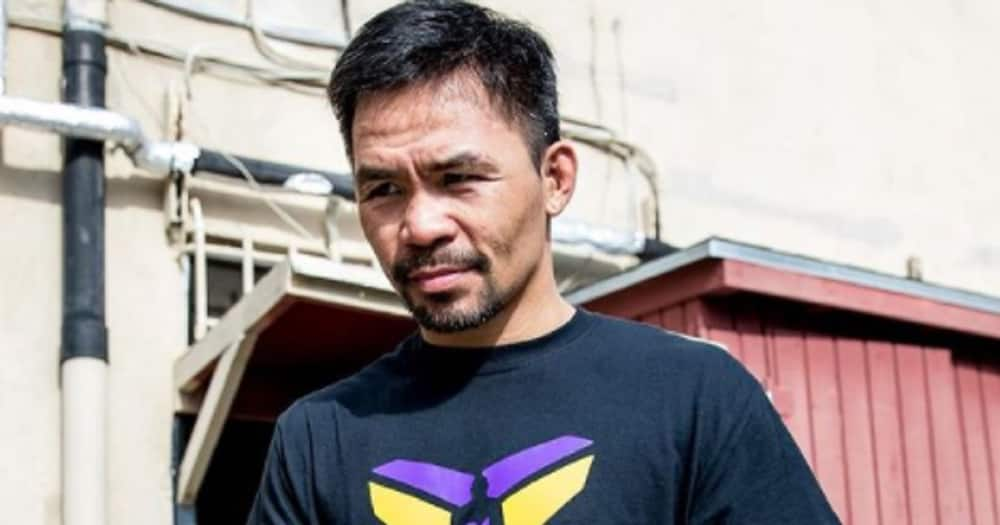 Manny Pacquiao worships with American pastor after loss to Yordenis Ugas