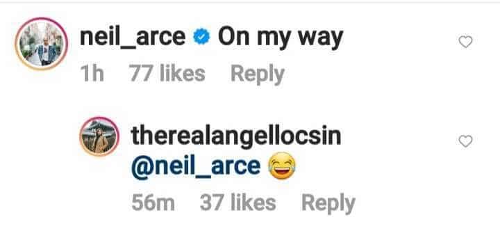 """Netizens, kinilig sa """"on my way"""" comment ni Neil Arce sa new photos ni Angel Locsin"""