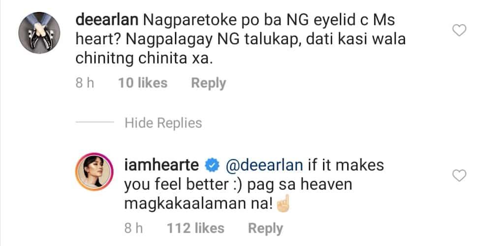 Heart Evangelista, inakusahan ng isang netizen na nagparetoke daw siya ng mata
