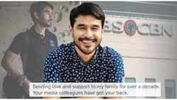 Atom Araullo expresses love and support to former home network