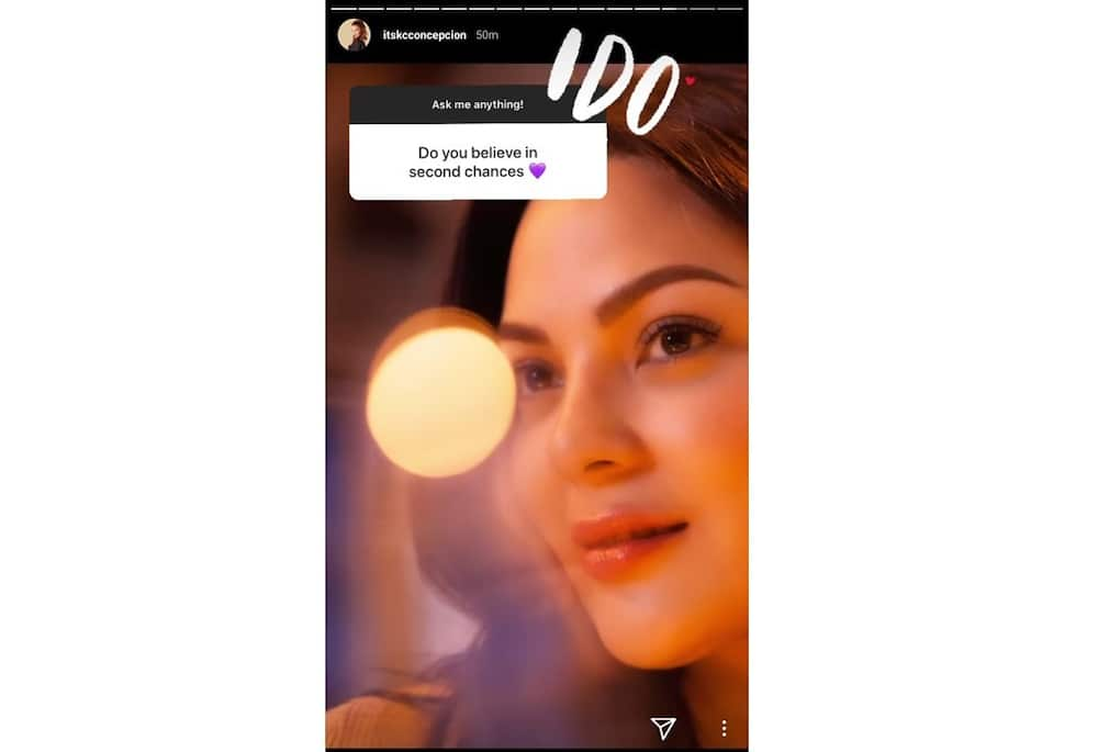 KC Concepcion responds to netizens' intriguing questions about her love life