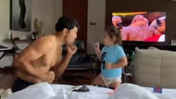 """Video of Derek Ramsay and Elias' hilarious """"boxing match"""" goes viral"""