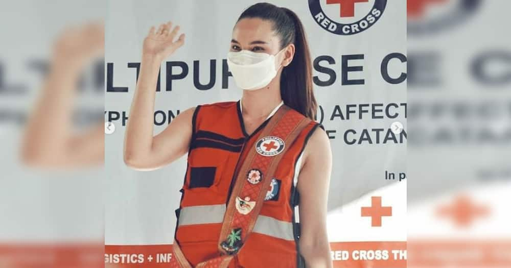Catriona Gray goes to typhoon-hit areas to deliver aid