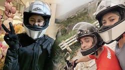 Kim Chiu, labis na kinilig sa motorcycle ride nila ni Xian Lim