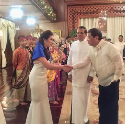 Angeline Quinto expresses her experience performing for Pres. Duterte & Sri Lanka President
