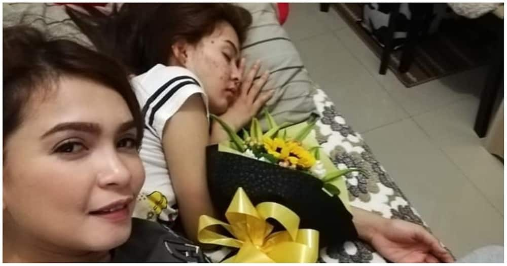 Jang Lucero's sweet video call with her girlfriend touches netizens