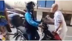 Lalaki, minura at sinigawan ang na-late na Angkas rider
