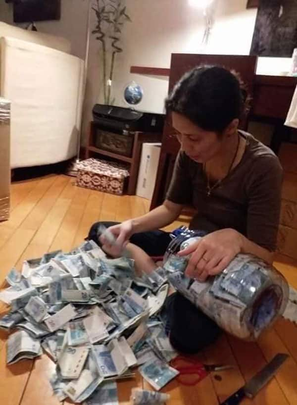 Keri in 6 months! OFW takes on 'ipon challenge' and saves a whopping P140K in half a year