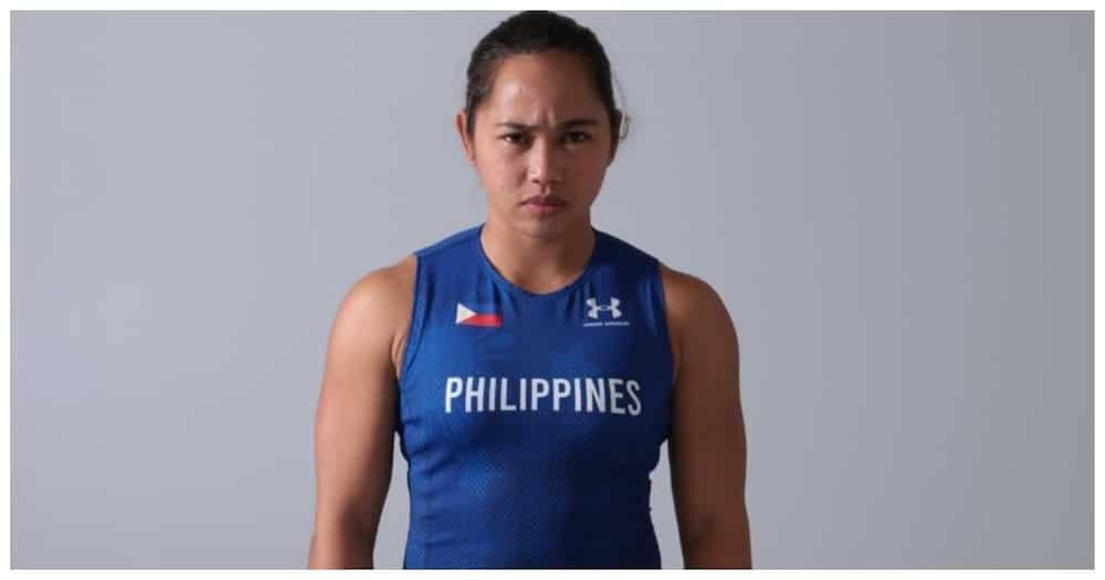 Hidilyn Diaz, nagpa-tattoo ng 'Olympic Rings' sa kanyang braso