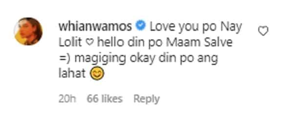 Lolit Solis praises Rhian Ramos for overcoming painful break-up: 'Medyo masaya na siya'