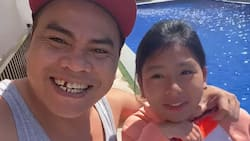 Super Tekla takes a vacation with his daughter Aira on a beach resort