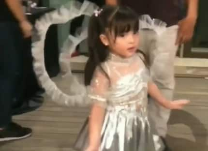 Netizens go crazy over the cutest version of 'Lava walk' from Zia Dantes & Scarlet Snow