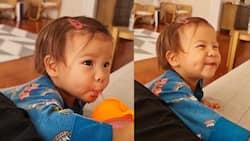 Dimple ni baby Dahlia sa isang viral video, kinagiliwan ng netizens