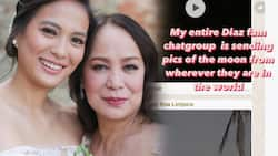"""Isabelle Daza shares her mom Gloria Diaz's """"contribution"""" during the blood moon"""