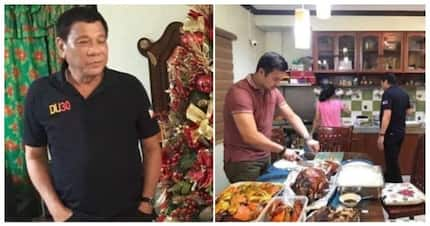 Fact check: Did President Duterte celebrate New Year in a 'simple' way?