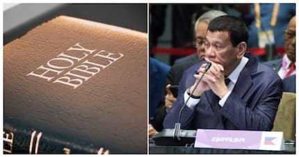 President Duterte insults and curses the writers of the Bible
