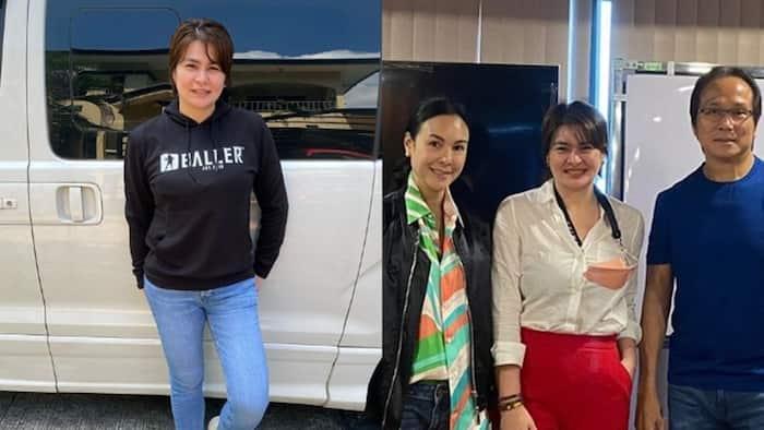 Aiko Melendez, Jay Khonghun pay a surprise visit to Gretchen Barretto