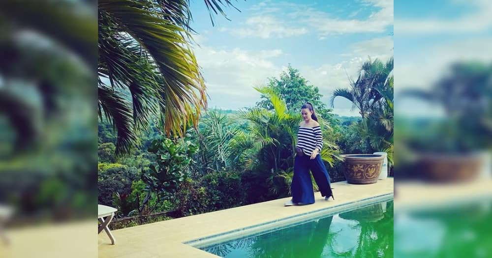 Andrea del Rosario shows off her lovely beach house in Batangas