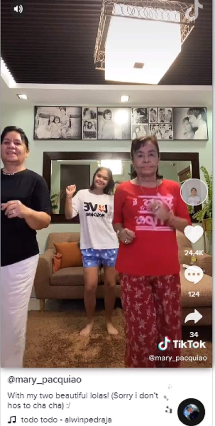 Cool lola! Mommy Dionisia's TikTok videos with granddaughter Mary go viral