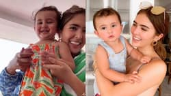 """Sofia Andres' """"breakfast challenge"""" TikTok video with baby Zoe goes viral"""