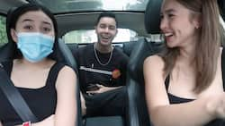 Julia Barretto does the 'Ordering What The Person In Front Of Us Ordered' tag with Claudia and Leon Barretto