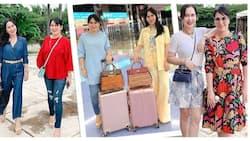 Jinkee Pacquiao at Janet Jamora, looking fabulous sa latest OOTD snaps sa socmed